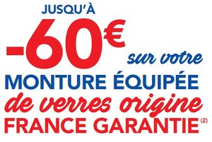Offre -60€ OP French Touch Vision Plus